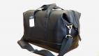 Дорожная спортивная сумка с ремнём кожзам